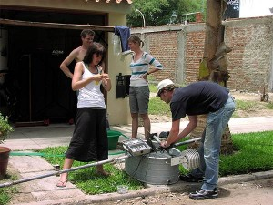 german-University-visit-Plan-Verde-NGO-in-Piura